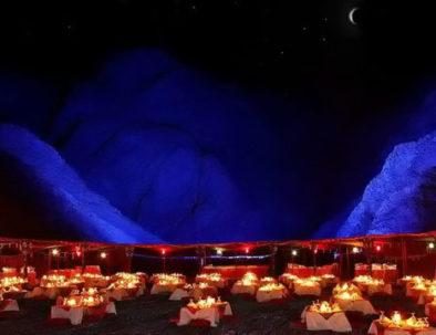 Cena beduina deserto escursione Sharm