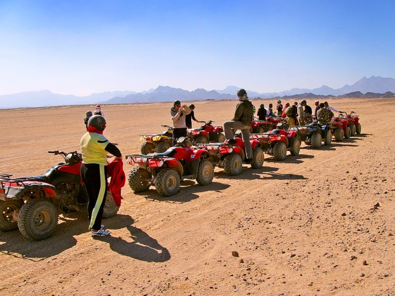 Motorata nel deserto Sharm