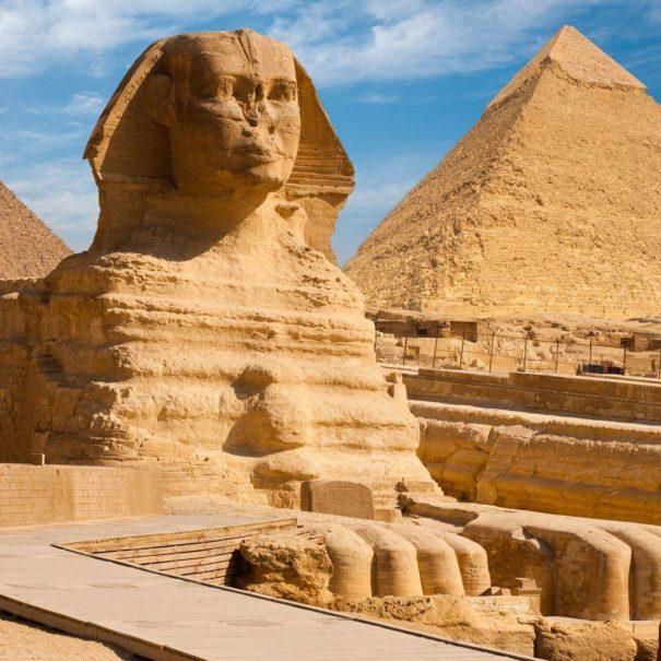 Sfinge escursione Piramidi Egitto